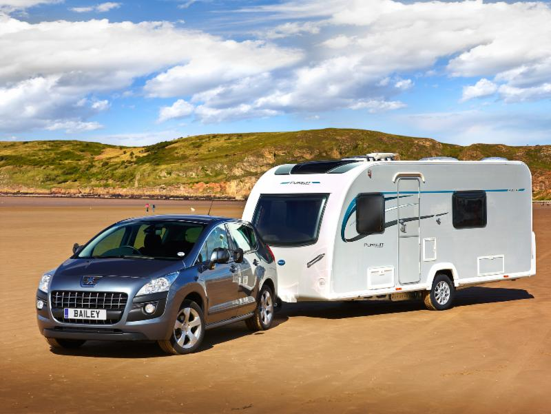 Fulfil your desire for independence  with the new Bailey Pursuit caravan range