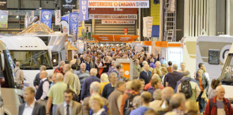 Record Attendance of 100,179 at The Motorhome & Caravan Show 2013