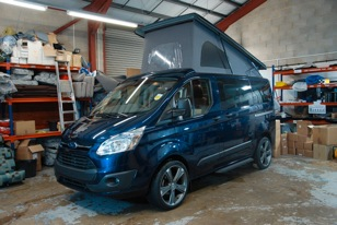 The new Wellhouse Ford Campervan