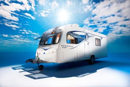 Pegasus GT65 caravan range continues the Bailey Alu-tech five-year run of award winning success story