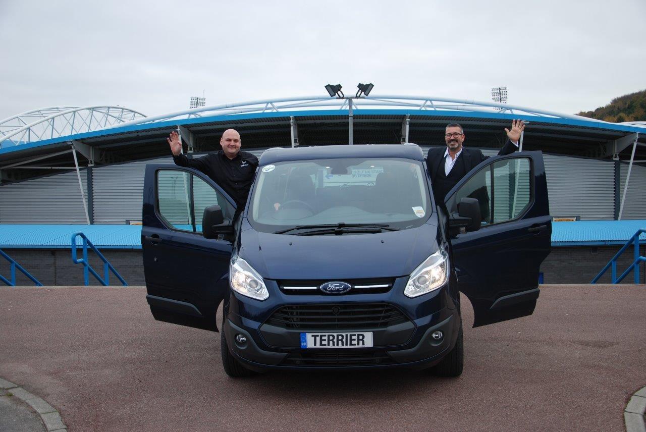 Huddersfield Town FC thanks Wellhouse Leisure