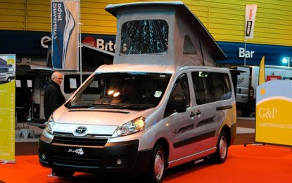 New Toyota Proace Camper takes-off!