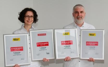 """Four """"Best Brand"""" awards for Truma"""