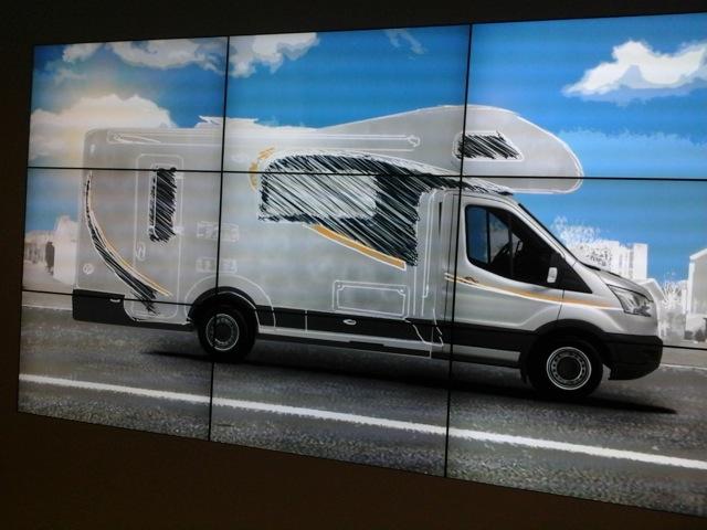 caravancruise ie – Design concept of new Ford Transit Campervan