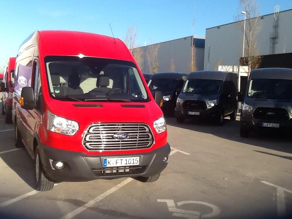 Design concept of new Ford Transit Campervan