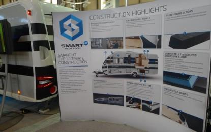 Swift Group's new hi-tech flagship caravan ranges