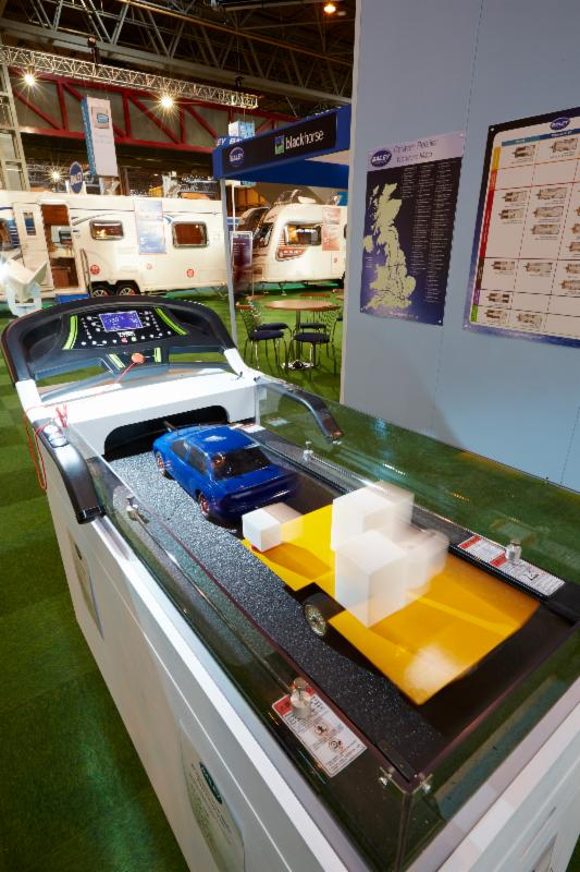 University of Bath shows how it has influenced design of Bailey Caravans