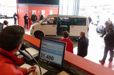 Rare VW Caravelle sells at BCA Measham