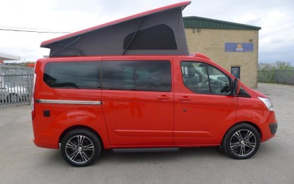 Wellhouse Ford Terrier wins 'VW T5 v The Rest' ultimate campervan group test