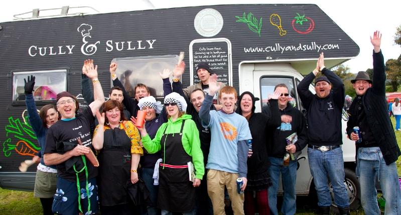 Cully & Sully Campervan Cook-off at Vantastival!