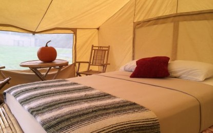 Glamping Tents For 'INDY 500' Race Weekend