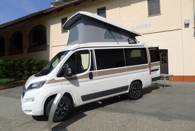 "New Fiat Ducato ""motorhome base"""