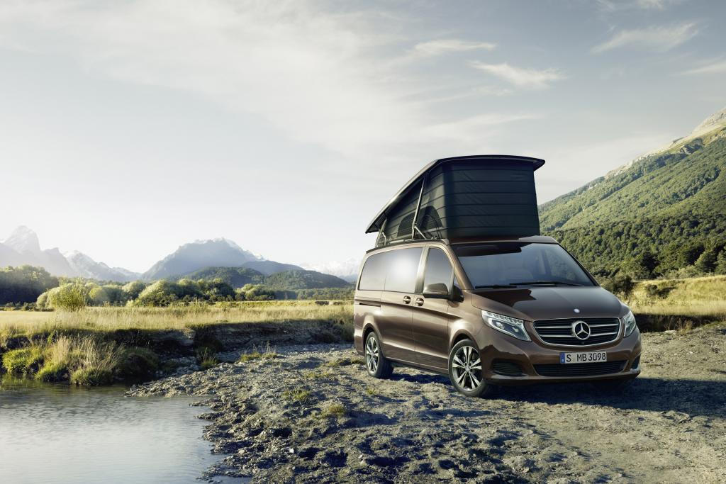 Marco Polo from Mercedes-Benz: New style in independence