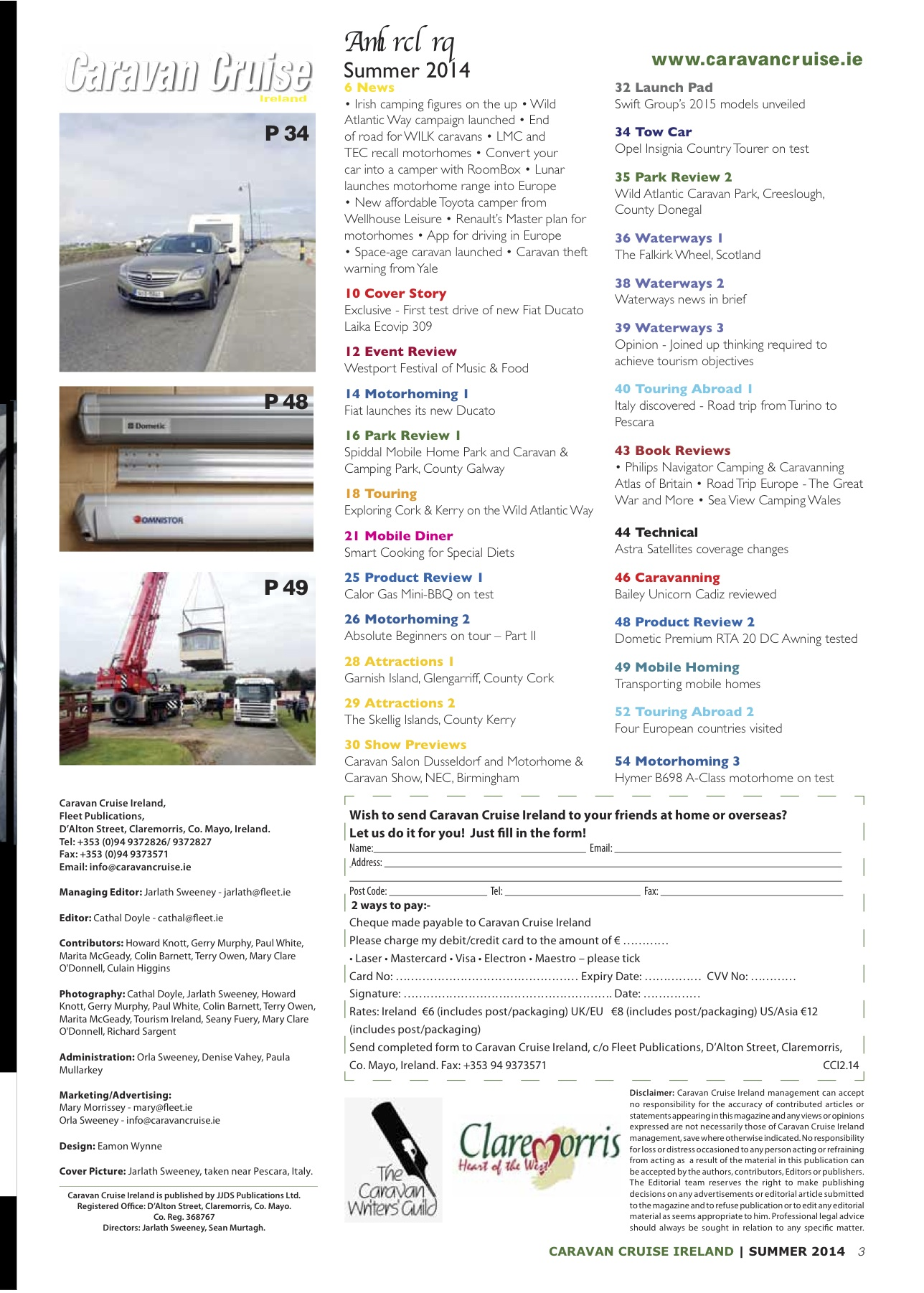 Gone to Print Summer edition Caravan Cruise