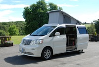 Wellhouse offers campervan conversion – imported luxury; used Toyota Alphard