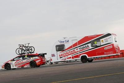 Honda duo pitch up at Snetterton following summer caravan road trip-57315
