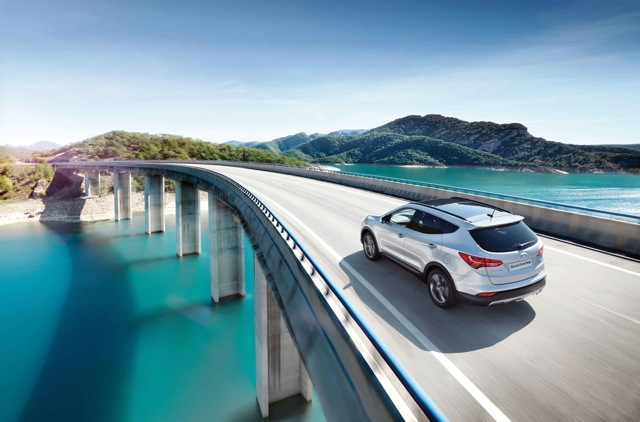 Hyundai is Towcar Partner for Motorhome & Caravan Show 2014