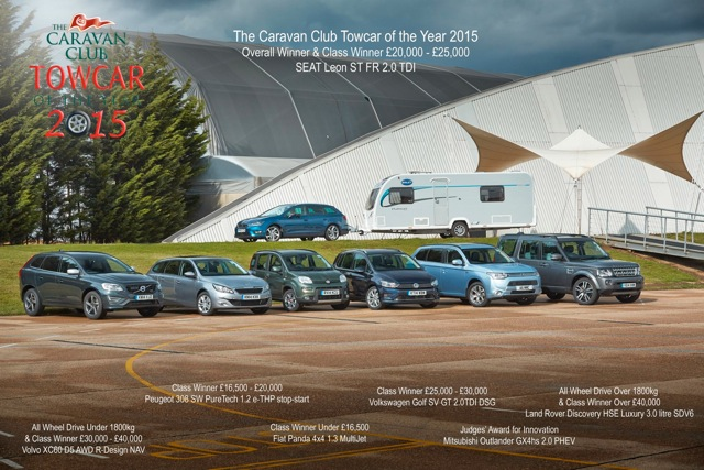 Volkswagen Group dominates Tow Car Awards