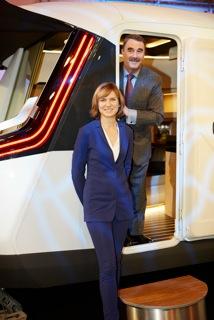 Nigel Mansell & Fiona Bruce officially open Motorhome & Caravan Show 2014
