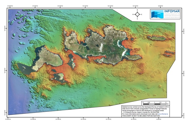 Geological Survey of Ireland's 'Real Map' of Inishbofin launched
