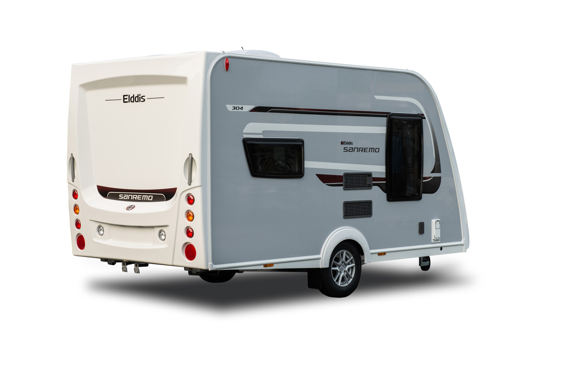 New Sanremo caravan range from Venture Caravans