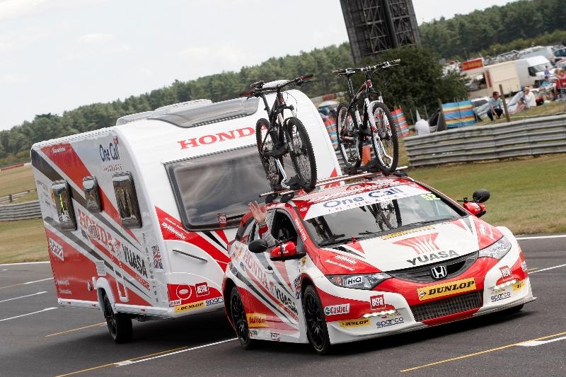 Honda Yuasa Racing Caravan headed for Motorhome & Caravan Show