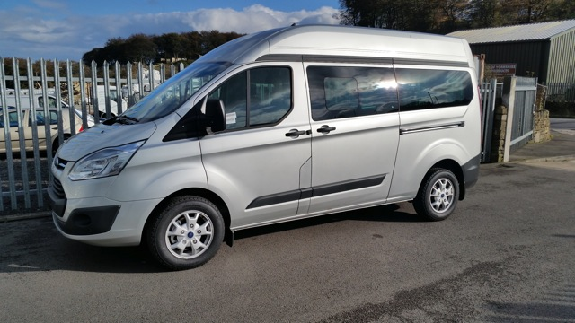NEW long wheelbase, high roof Wellhouse Ford (Custom) Terrier to debut at The Caravan, Camping & Motorhome Show