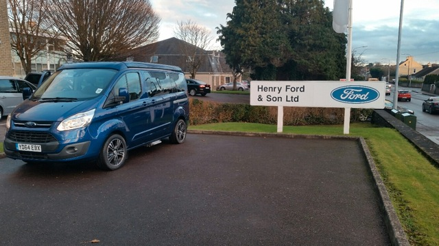 Photos from Wellhouse Leisure's tour of Ireland in Ford Terrier!