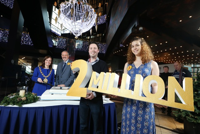 Titanic Belfast welcomes TWO-MILLIONTH visitor
