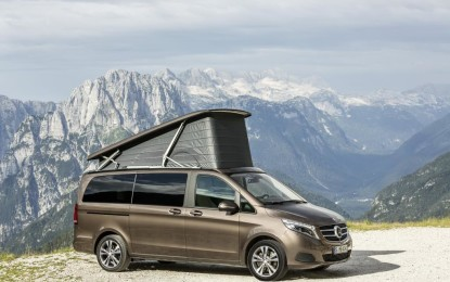 Caravan Salon 2015 Düsseldorf: Mercedes-Benz Campervans on course for success