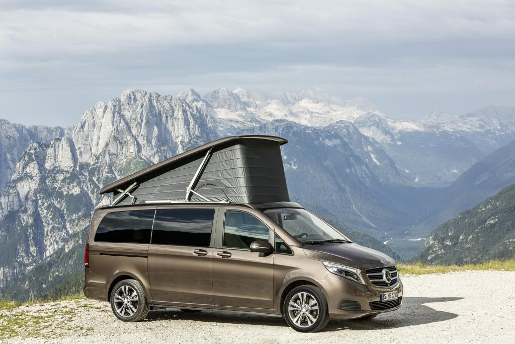 mercedes benz marco polo compact camper van of the year 2015. Black Bedroom Furniture Sets. Home Design Ideas