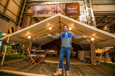 Ben Fogle introduces Ready Camp glamping tents