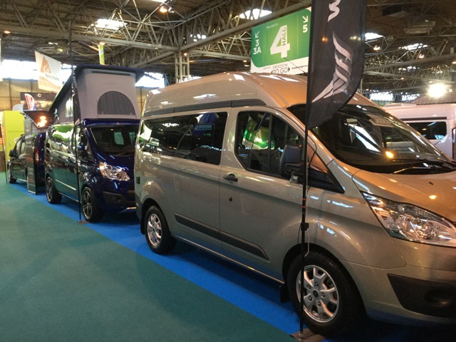 Wellhouse Leisure launches LWB Hi-Roof Ford Terrier campervan