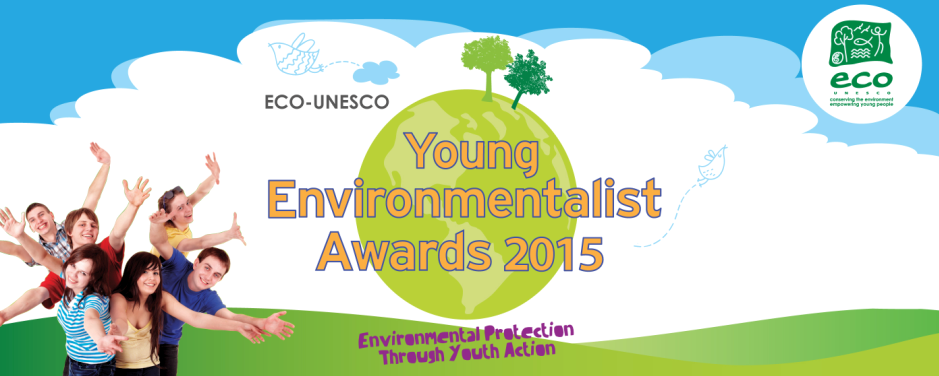 Young people from Antrim prepare to enter the ECO-Den