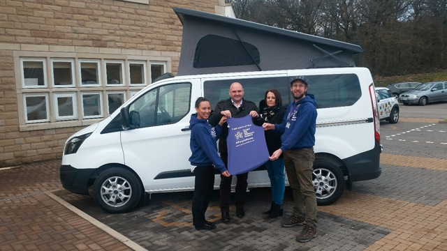 Wellhouse Leisure loans Ford Terrier Camper Forget Me Not Children's Hospice