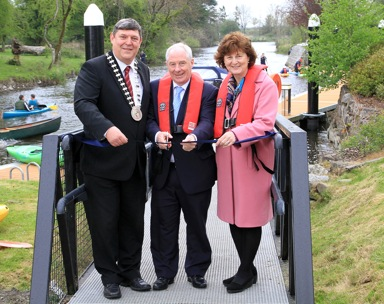 Minister Ring Launches the Shannon Blueway: Camlin Loop