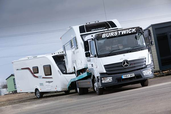 Mercedes-Benz Atego: tried & tested winner for Burstwick Freight