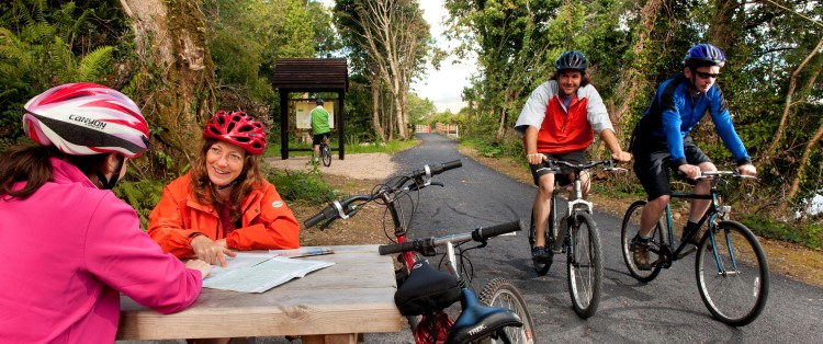 Pedals at the Ready – Greenway Coming Soon to Westport House!