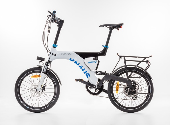 The e-bike to match owners motorhome or caravan