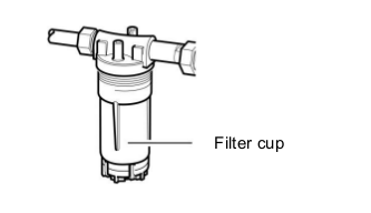 Important safety information: Conversion of Truma gas filter