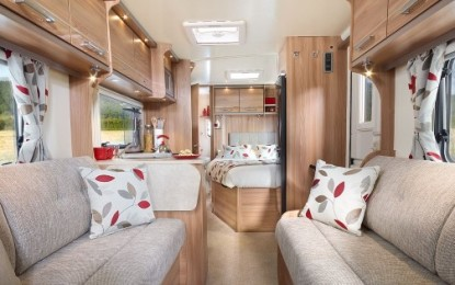 See the new Baileys & more at The Motorhome & Caravan Show