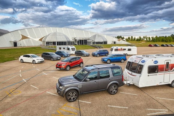 Bailey caravans successfully completes 18th year Towcar competition