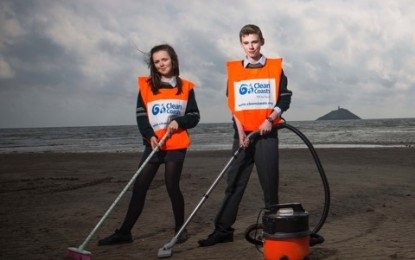 St. Colman's Community College, Midleton removes 12 tonnes+ of marine litter
