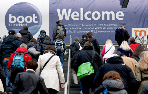 boot Düsseldorf 2016: Services for visitors