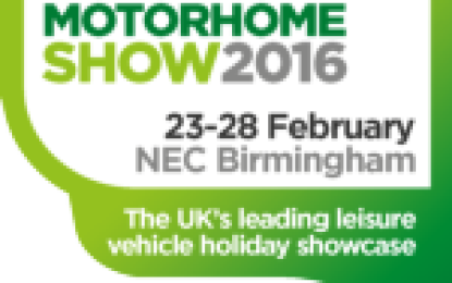 Lots to see at Caravan, Camping & Motorhome Show 2016