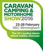 Lots to see at Caravan, Camping & Motorhome Show 2016