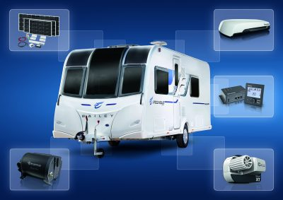 Win a new Bailey caravan at Caravan, Camping & Motorhome Show 2016 courtesy of Truma