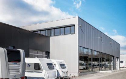 Factory pick-up at Knaus Tabbert: New delivery centre in Jandelsbrunn