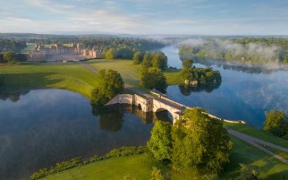 BLENHEIM PALACE AMONG UK'S GREENEST ATTRACTIONS