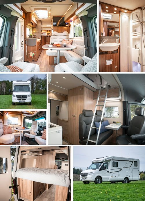 New Mercedes-Benz Sprinter based vehicle from HYMER